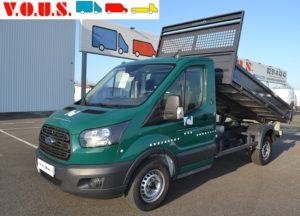 FORD TRANSIT 2T CCB P350 BENNE 105CH AMBIENTE